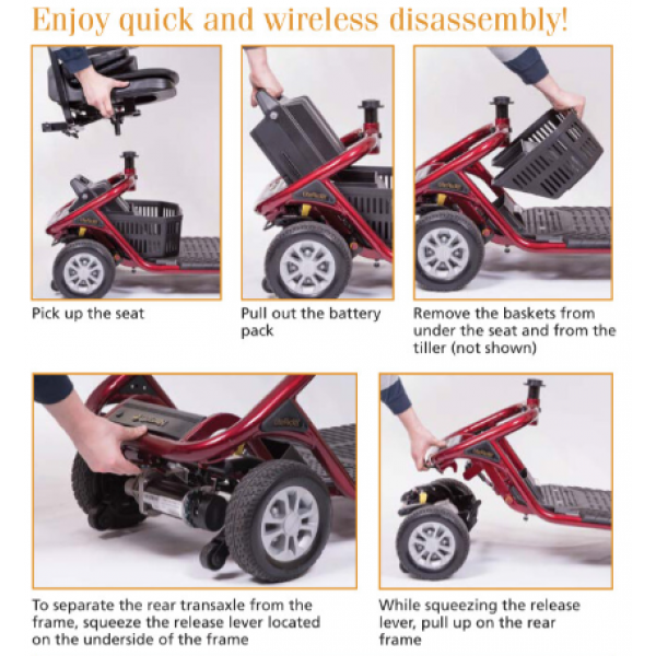 LiteRider 4-Wheel Mobility Scooter 3