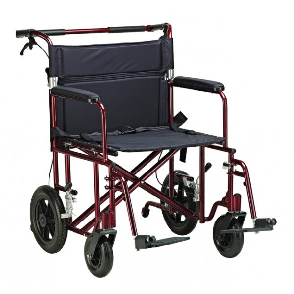 XL Transport Chair with Wheels