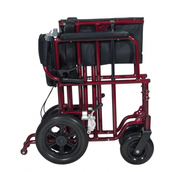 Transport Chair with Wheels 2